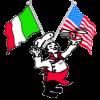 anthonys pizza mascot - logo